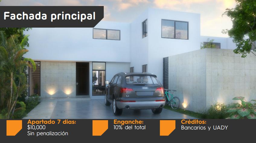 LOMAS DZITYÁ, MOELO 1 (PRECIO PROMOCIÓN $2,370,000 MXN) PISCINA DE REGALO