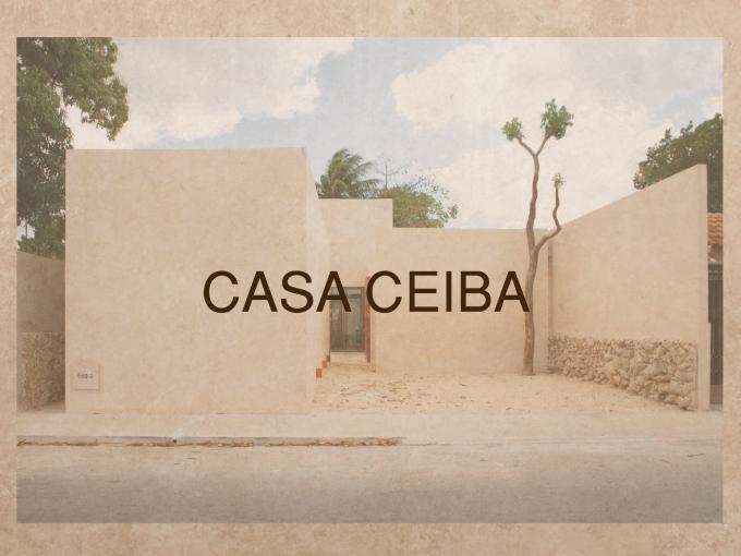 CASA CEIBA (Mérida, Centro)