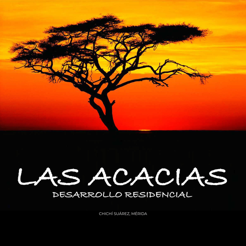 LAS ACACIAS- DESARROLLO RESIDENCIAL (CHICHÍ SUÁREZ MÉRIDA)