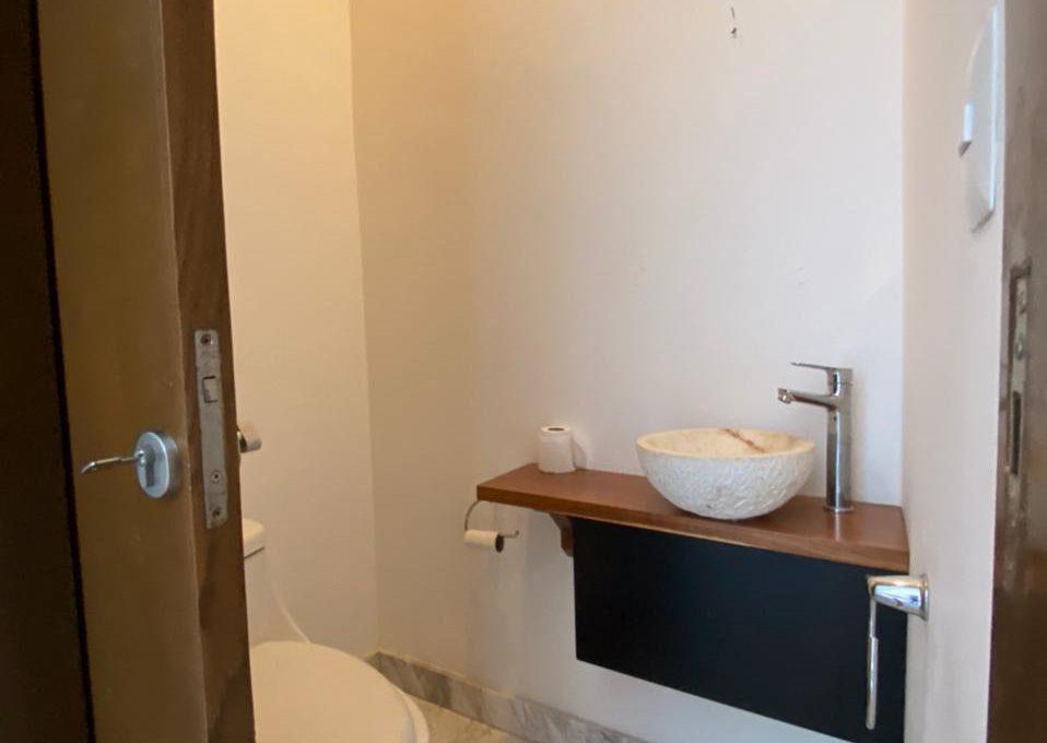 13. baño visitas