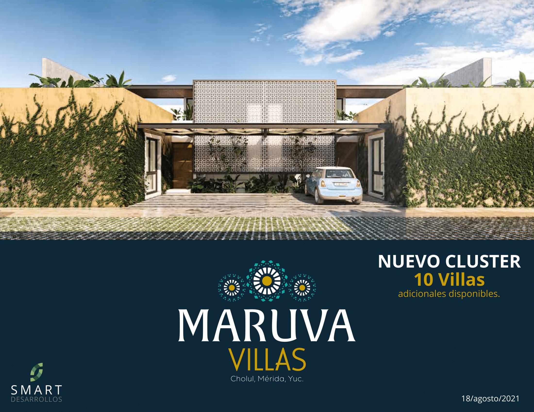 PRIVADA, MARUVA VILLAS (Cholul, Mérida, Yucatán)